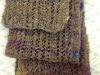 Pauline Schultz Handspun Handknitted scarf 11-2016