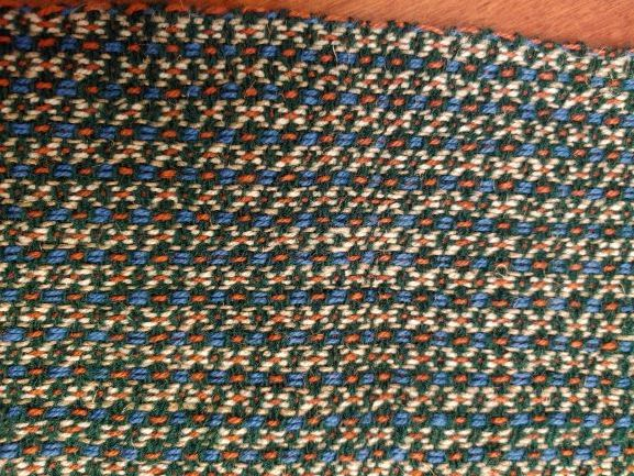 """Marcia - woven in online """"Stash Busting Weave-along"""" with Tien Chiu and Janet Dawson"""